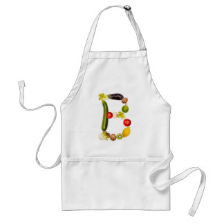 """letter """"B"""" of fruits and vegetables Aprons"""