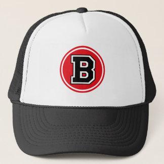 "Letter ""B"" Trucker Hat"
