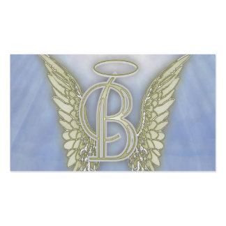 Letter BAngel Monogram Pack Of Standard Business Cards