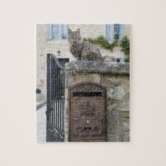 Letter Box and Cat on the Wall, Lot et Garonne, Puzzles