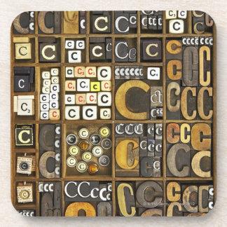Letter C Coaster
