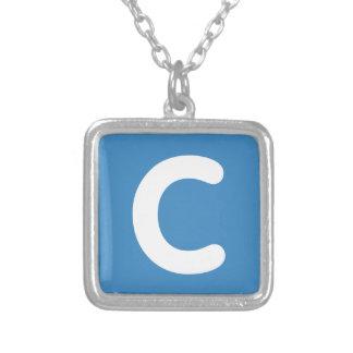 Letter C emoji Twitter Jewelry