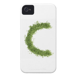 Letter 'C' in cress on white background, Case-Mate iPhone 4 Cases