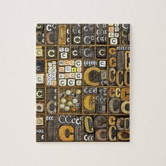 Letter C Jigsaw Puzzle