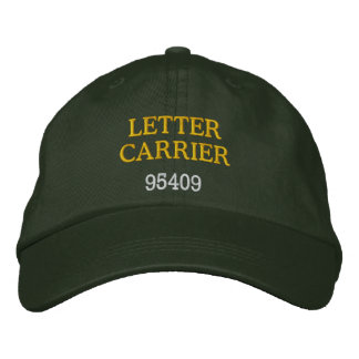 LETTER CARRIER, Hat Embroidered Cap