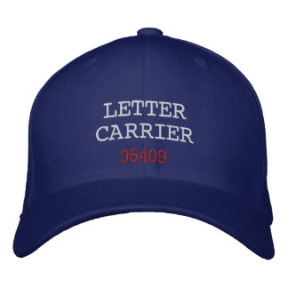 LETTER CARRIER, Hat Embroidered Hat