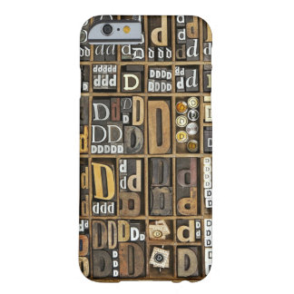 Letter D Barely There iPhone 6 Case