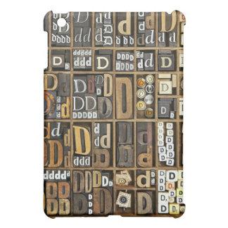 Letter D iPad Mini Case