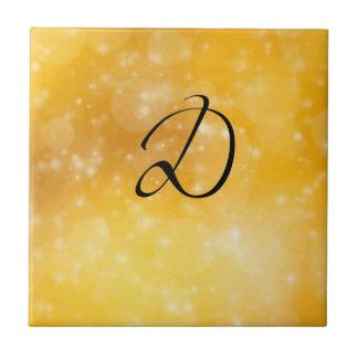 Letter D Ceramic Tiles