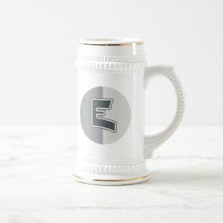 Letter E Beer Steins