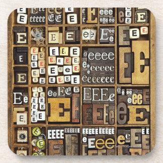 Letter E Coaster