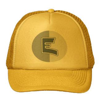 Letter E Trucker Hat