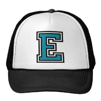 "Letter ""E"" Monogram Cap"