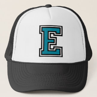 "Letter ""E"" Monogram Trucker Hat"