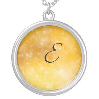 Letter E Custom Necklace