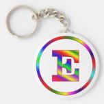 Letter E Rainbow