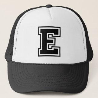 """Letter """"E"""" Trucker Hat"""