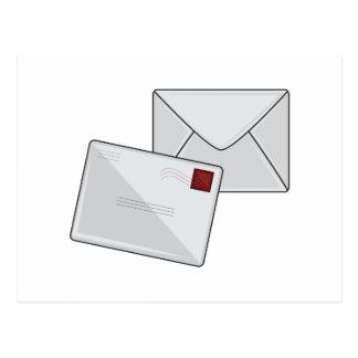 Letter & Envelope Postcard
