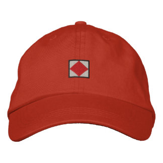 Letter F Embroidered Baseball Cap