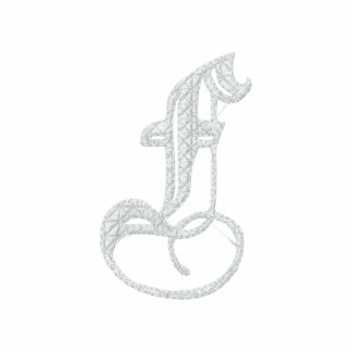 Letter F Fancy Monogram Embroidered Shirt