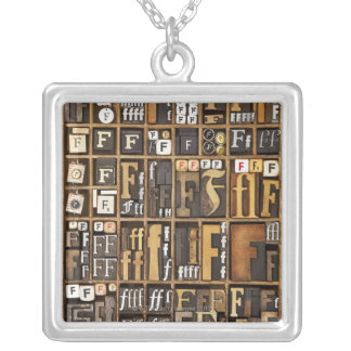 Letter F Necklaces