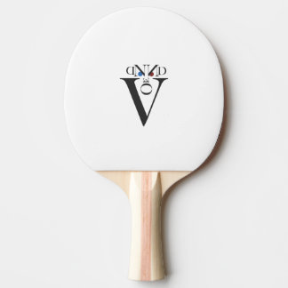 Letter Face Ping Pong Paddle