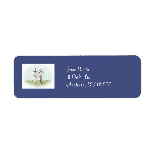 Letter from a Bluebird Customisable Address Labels