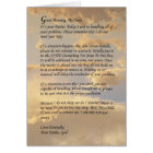 Letter From God Card