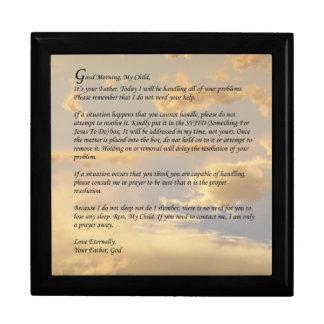 Letter From God Gift Box