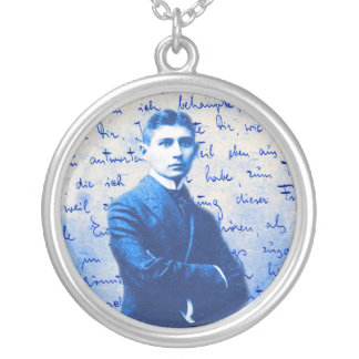 Letter From Kafka Round Pendant Necklace