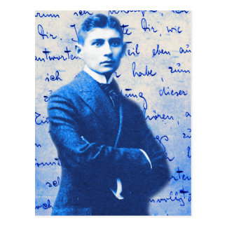 Letter From Kafka Postcard