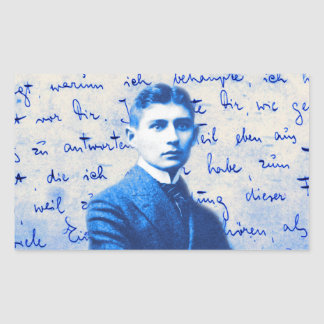 Letter From Kafka Rectangular Sticker