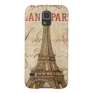 Letter from Paris Galaxy S5 Cover