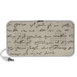Letter from Sir Francis Drake Mp3 Speaker