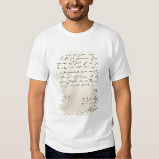 Letter from Sir Francis Drake Tee Shirt