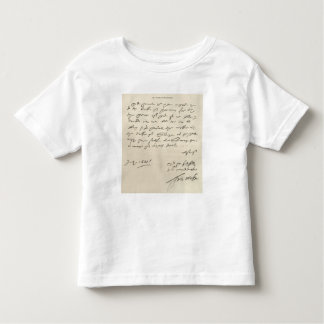 Letter from Sir Francis Drake Tees