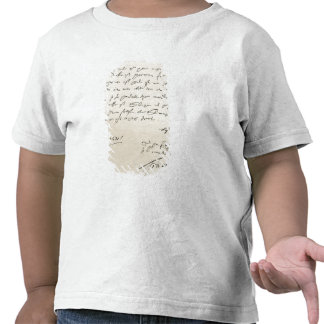 Letter from Sir Francis Drake T Shirts