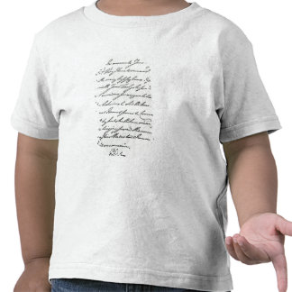 Letter from William IV to Lady Nelson Shirt