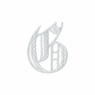 Letter G Fancy Monogram Embroidered Shirt