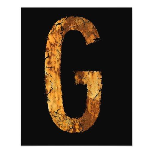Letter G Flyer