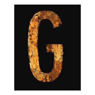 Letter G Flyers
