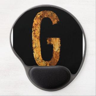 Letter G Gel Mouse Mat