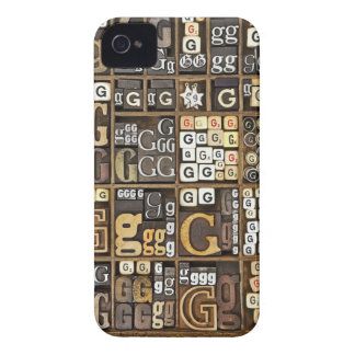 Letter G iPhone 4 Case