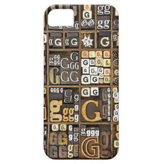 Letter G iPhone 5 Covers