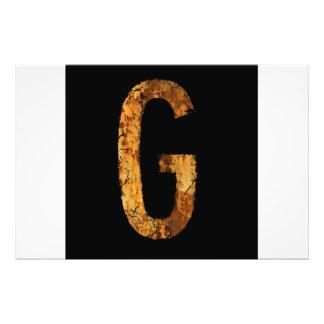 Letter G Photo Art