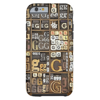 Letter G Tough iPhone 6 Case