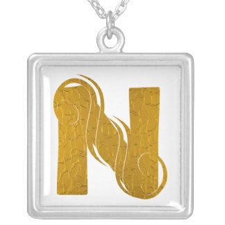 Letter Gold N - Necklace