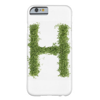 Letter 'H' in cress on white background, Barely There iPhone 6 Case