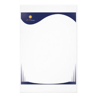 letter head customised stationery