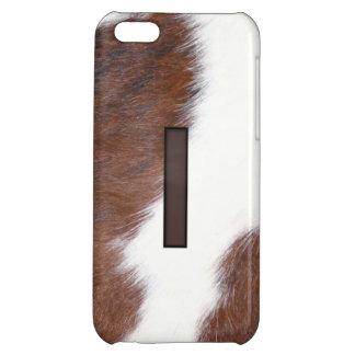 Letter I Brand Cowhide Livestock Iphone 5 Case